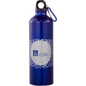 Santa Fe Aluminum Bottle with Your Slogan