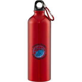 Imprinted Santa Fe Aluminum Bottle