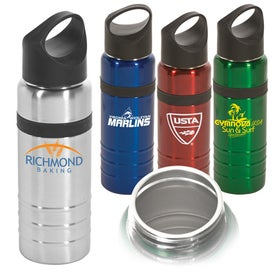 Saturn Stainless Bottle with Your Slogan
