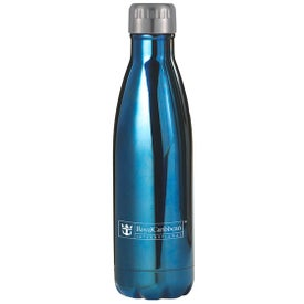 Serendipity Water Bottle (16 Oz., Gold, Copper, and Blue)