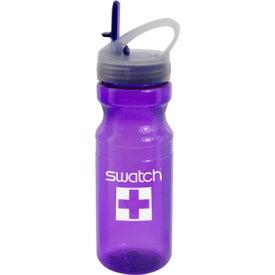 Shawnee Poly-clear Sport Bottle (24 Oz.)