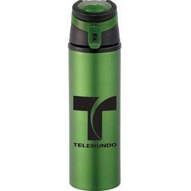 Monogrammed Sheen Aluminum Bottle