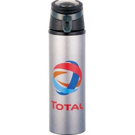 Sheen Aluminum Bottle with Your Slogan