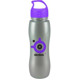 ShimmerZ Slim Grip Bottle with Crest Lid for Your Company