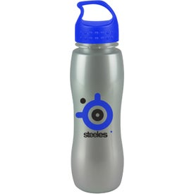 ShimmerZ Slim Grip Bottle with Crest Lid Branded with Your Logo
