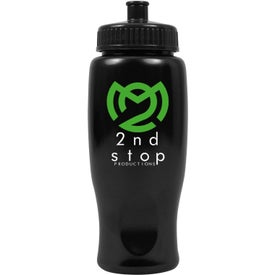 ShimmerZ Sport Bottle with Push Pull Lid Branded with Your Logo