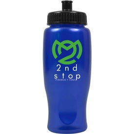 ShimmerZ Sport Bottle with Push Pull Lid Printed with Your Logo