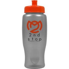 Custom ShimmerZ Sport Bottle with Push Pull Lid