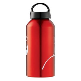 Shortie Aluminum Bottle Branded with Your Logo