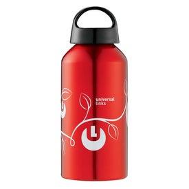 Shortie Aluminum Bottle with Your Slogan
