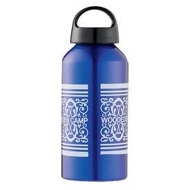 Monogrammed Shortie Aluminum Bottle