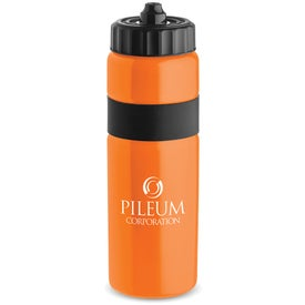 Logo Sierra Sure Snap Plastic Water Bottle