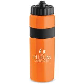 Logo Sierra Sure Snap Plastic Water Bottle