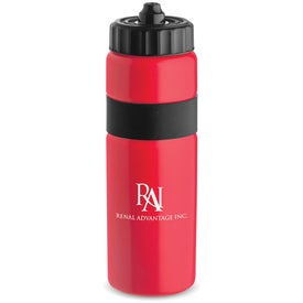 Personalized Sierra Sure Snap Plastic Water Bottle