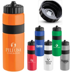 Sierra Sure Snap Plastic Water Bottle for Customization