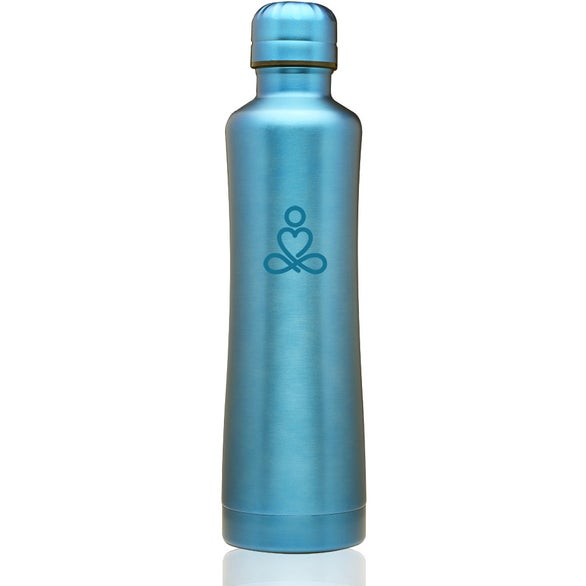 Blue Silhouette Stainless Steel Water Bottle