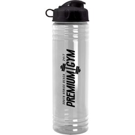 Slim Fit Water Bottles with Flip Lid (24 Oz.)
