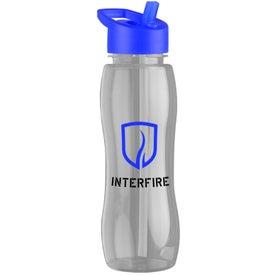 Slim Grip Tritan Bottle with Flip Straw Lid for Your Organization