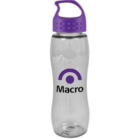 Poly Pure Slim Grip Bottle with Crest Lid for Your Church