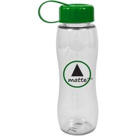 Monogrammed Poly Pure Slim Grip Bottle