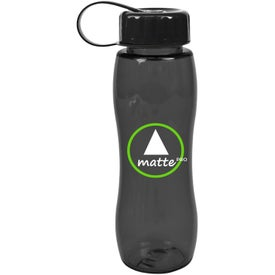 Poly Pure Slim Grip Bottle for Marketing