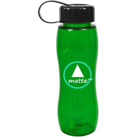 Poly Pure Slim Grip Bottle for Customization