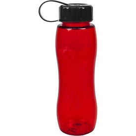 Poly Pure Slim Grip Bottle with Your Slogan