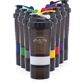 Smart Compartment Shaker Bottle (17 Oz.)