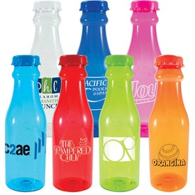 Soda Tritan Water Bottle Imprinted with Your Logo