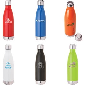 Solana Stainless Steel Vacuum Bottles (17 Oz.)