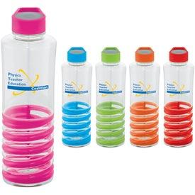 Spiral BPA Free Bottle (24 Oz.)
