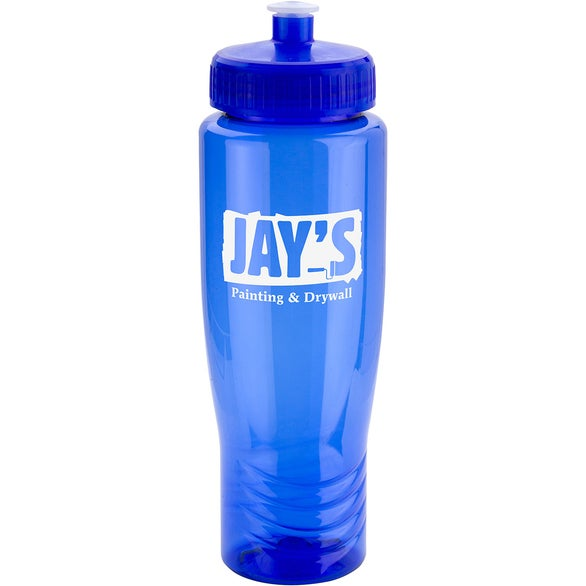 Blue Spirit Water Bottle with Push-Pull Lid