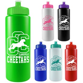 "Sports Bottle (32 Oz., 3.25"" x 9.75"")"