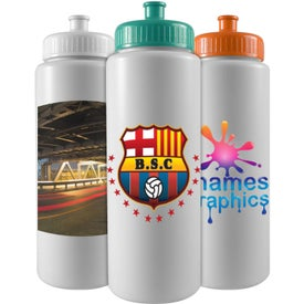 "Sports Bottle (32 Oz., 9.75"" x 2.875"")"
