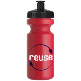 Recycled BPA Free Sports Bottle Branded with Your Logo