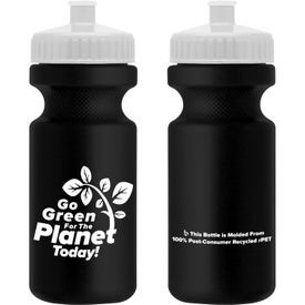 Recycled BPA Free Sports Bottle (22 Oz.)