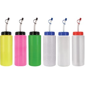 Sports Bottle with Flexible Straw for Your Church