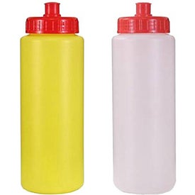 Sports Bottle with Push 'n Pull Cap for Your Company
