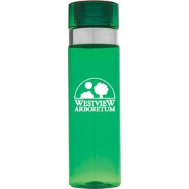 Sports Bottle with Metallic Ring for Promotion