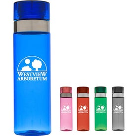 Sports Bottle with Metallic Ring (25 Oz.)