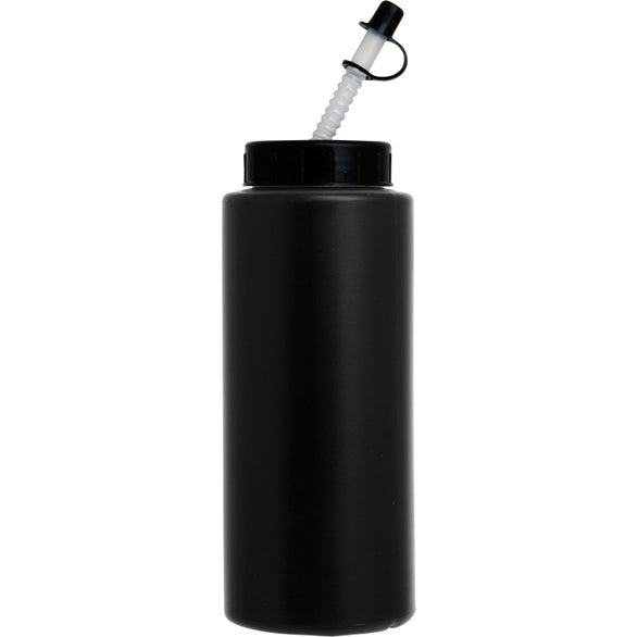 Sports Bottle with Flex Whistle Straw Lid