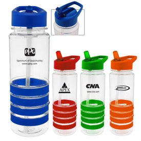 Sporty Ring Water Bottle (24 Oz.)