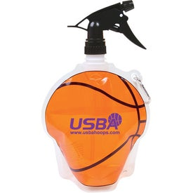 Spray Top Hydro Bottle (Basketball)