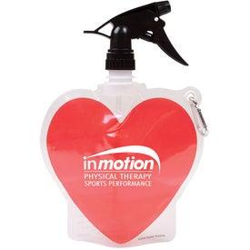 Spray Top Hydro Bottle (Heart)