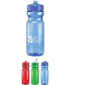 Sprinter Bottle With Push Pull Lid