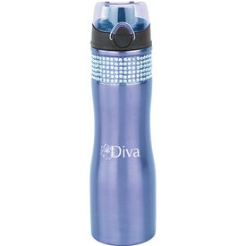 Stainless Bling Water Bottle for Advertising