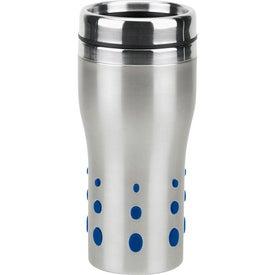 Personalized Stainless Dot Matrix Tumbler