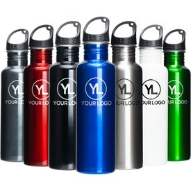 Stainless Sports Water Bottles (26 Oz.)