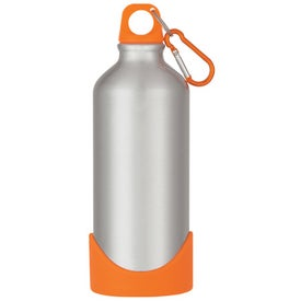 Branded Stainless Steel Bike Bottle with Plastic Base