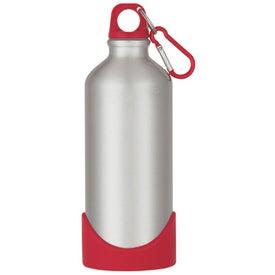 Monogrammed Stainless Steel Bike Bottle with Plastic Base
